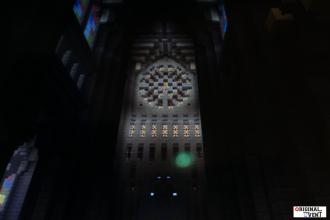Minecraft Rosace de la cathédrale