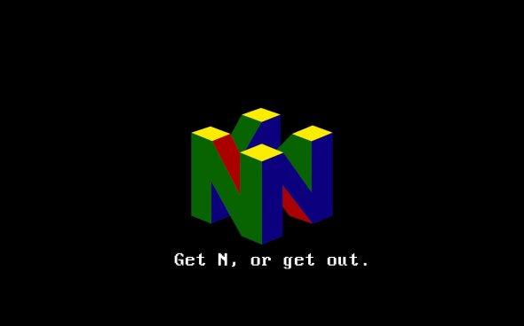 Rétro slogan Nintendo