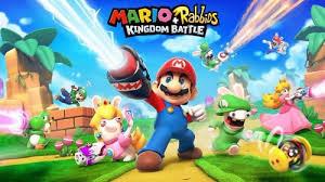 Mario et lapins crétins